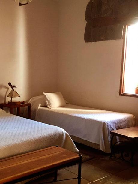 Habitaciones Singles del Hotel Killa de Cafayate en Salta, Argentina